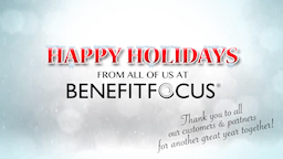 Benefitfocus 2014 Holiday Video