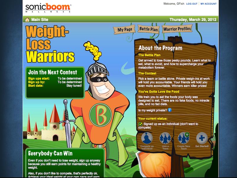 Sonic Boom Wellness App - Sonic Boom Benefits Tool ...
