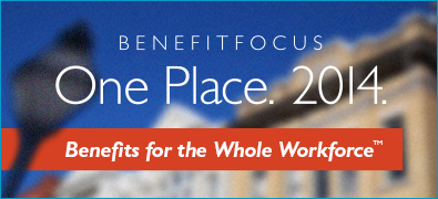 Benefitfocus Events - One Place. 2014.