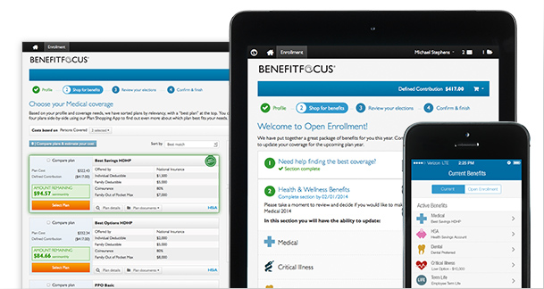 Online Benefits Enrollment Portal