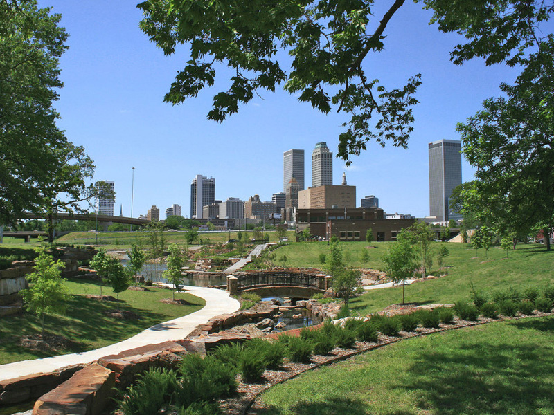 Skyline View of Tulsa