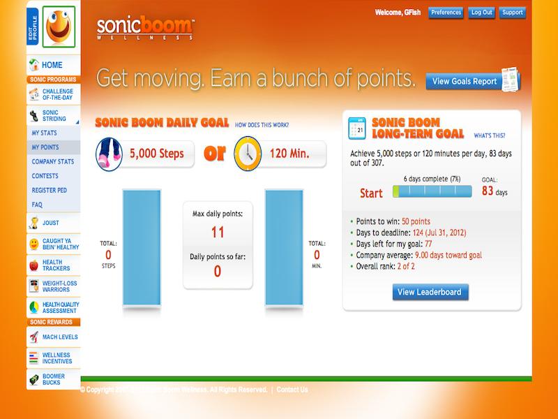 Sonic Boom Wellness App - Sonic Boom Benefits Tool | Benefitfocus